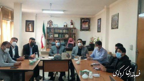 نشست مشترک استاندار گلستان با اعضای شورای اسلامی شهرهای استان بصورت ویدئوکنفرانس برگزار شد