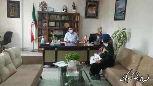 تعدادی از شهروندان با فرماندارکردکوی دیدار و گفتگو کردند.