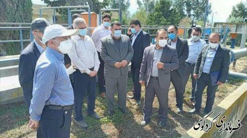 هشدار جدی فرماندار کردکوی در زمینه نفوذ آبهای شور به لایه های میانی سفرهای آب شیرین